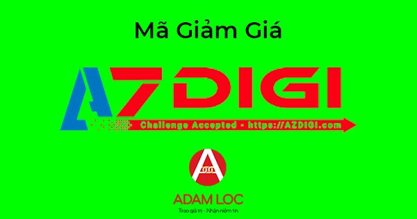 Mã giảm giá AzDigi mới nhất 2018, coupon khuyến mại AzDigi